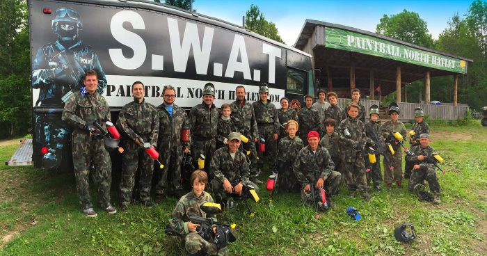 Photos de paintball - Groupe
